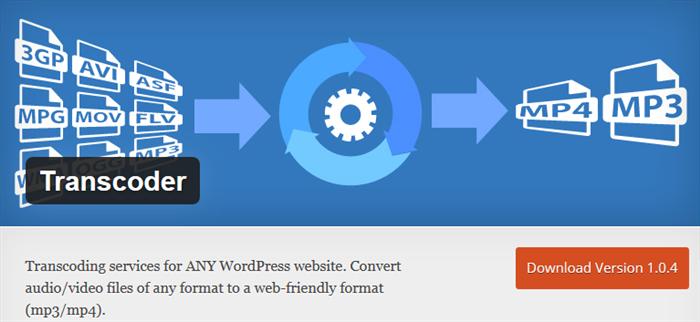convert audio files in wordpress