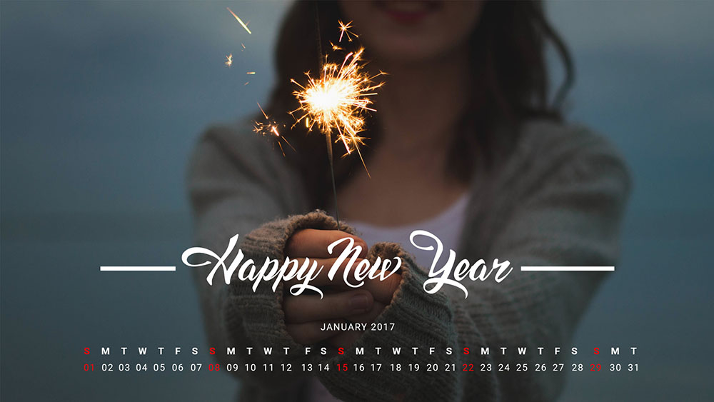 free monthly calendar template for January 2016