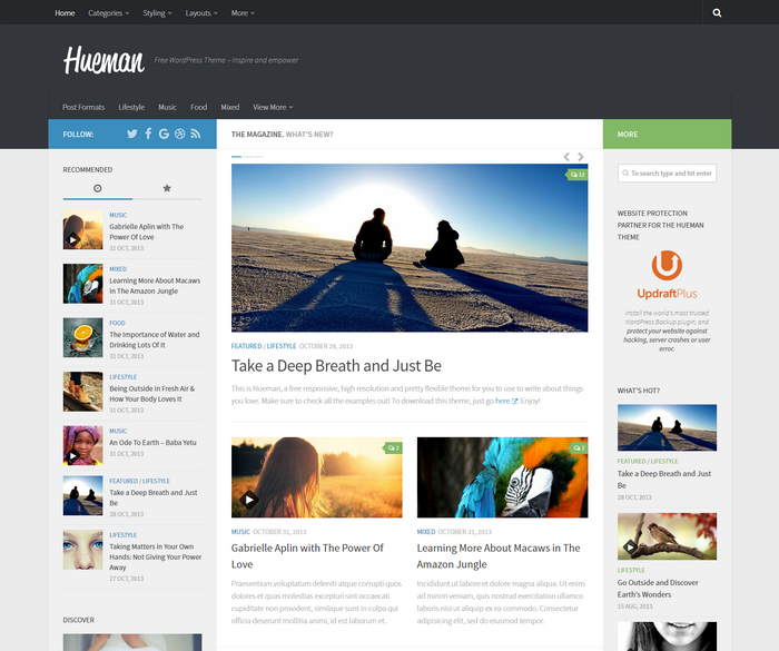 free best wordpress magazine theme