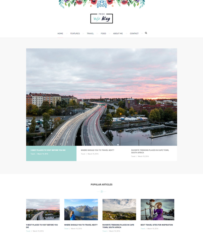 magazine blog theme