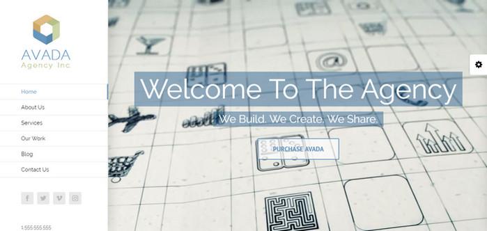 Avada Agency WordPress Theme