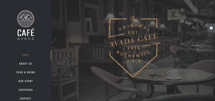Avada Cafe Theme