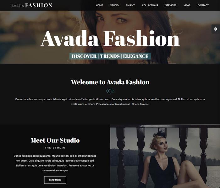 Avada Fashion WordPress Theme