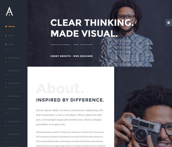 Avada Resume WordPress Theme