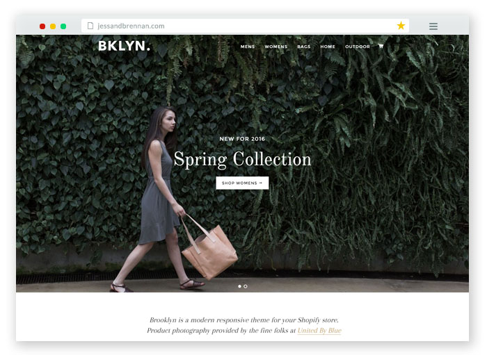 Brooklyn - modern responsive theme