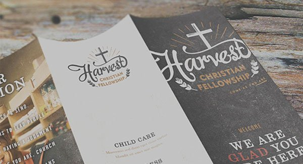 custom logo design for a church