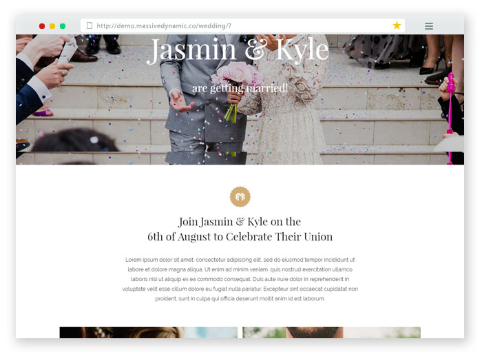Massive RSVP WordPress Theme