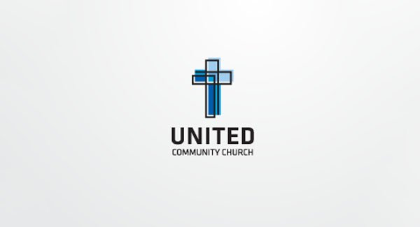 cross outline for Church Logo