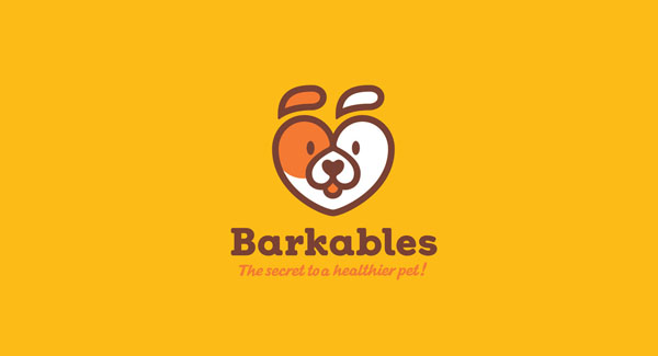Barkables flat Logo for pets and animals