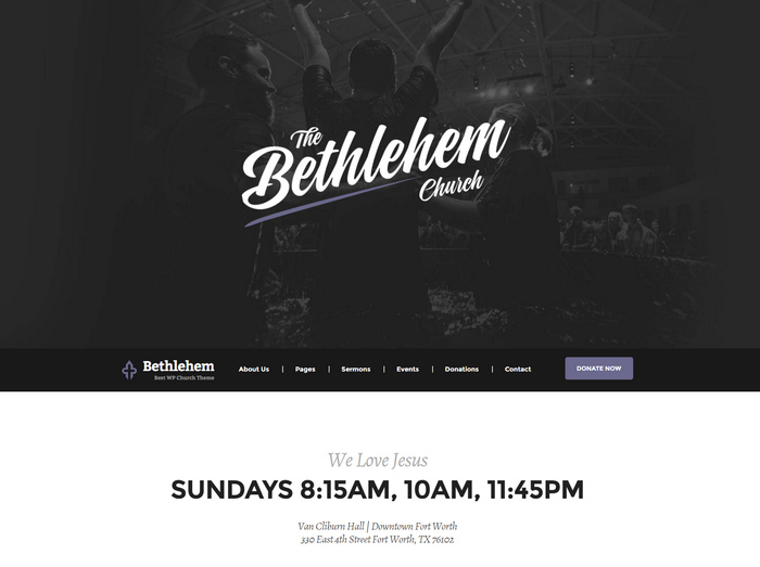 powerful WordPress Theme built for Churches, Charity, Non-Profit, Mosques, Non-profits or Prayer Groups.
