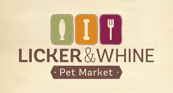 Licker and Whine Pet Logo