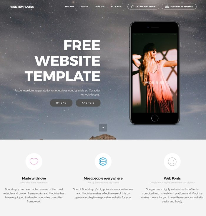 free-website-templates
