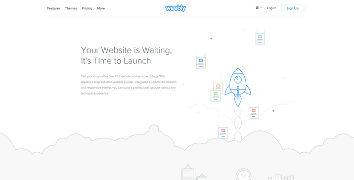 Weebly Drag and Drop Website Builder