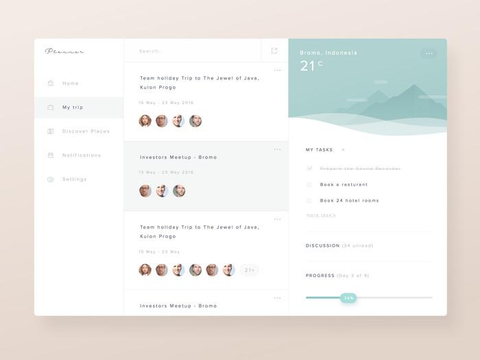 Planner Dashboard Template