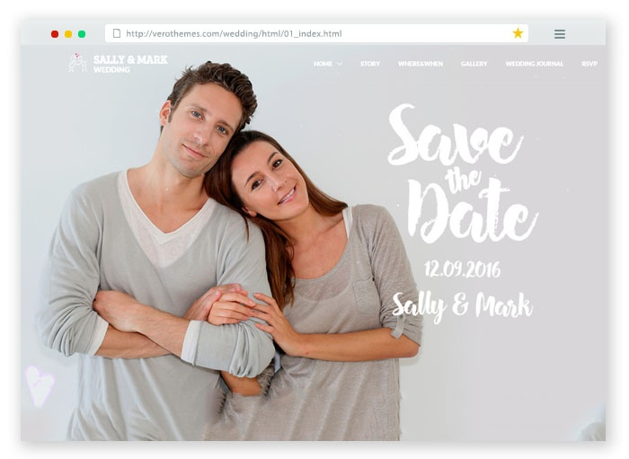 Wedding Responsive Template