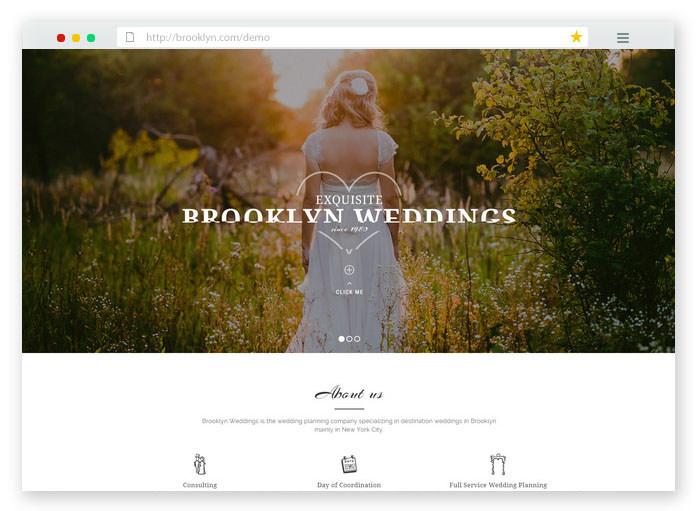 Brooklyn Wedding Theme