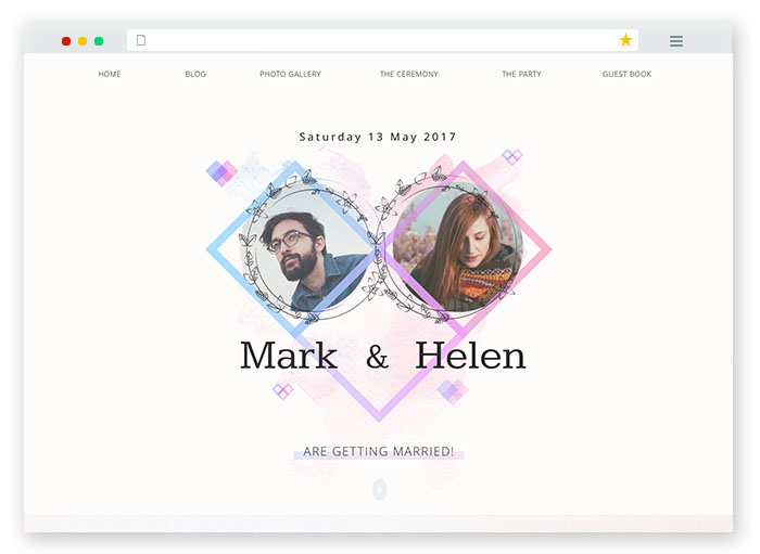 wedding-website-concept