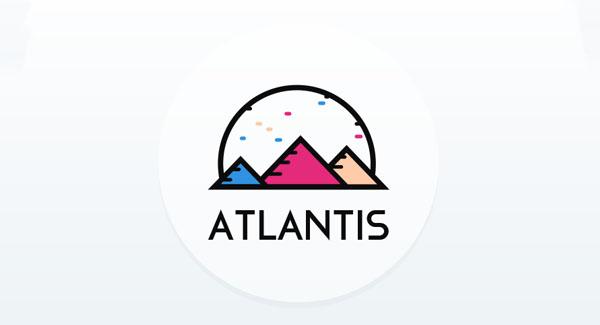 Atlantis Logo Design