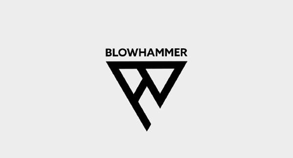 BlowHammer Logo Design