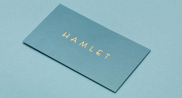 Hamlet Logo Design
