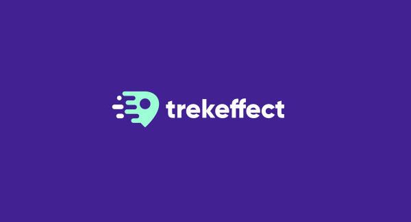 Treke Effect Travel Animation Logo