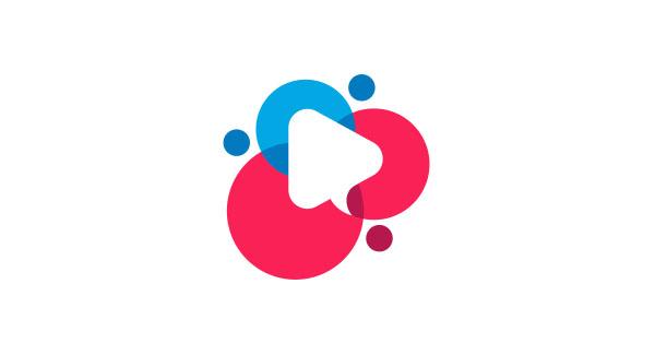Video Sharing App Logo Design