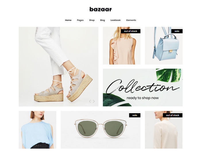 Bazaar is a modern, sharp e-commerce theme for multi vendors to sell their products online