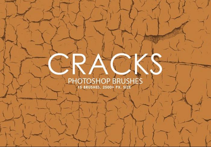 Free Cracks Photoshop Brushes
