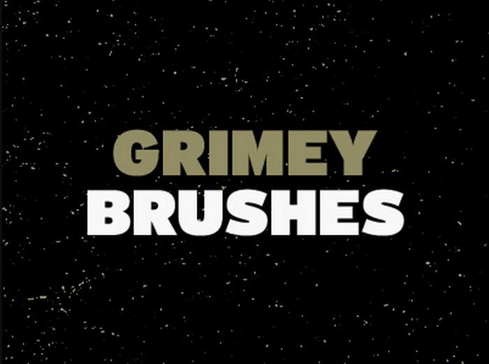 Grimey Brushes