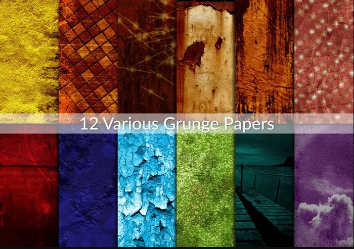 Various Grunge Papers