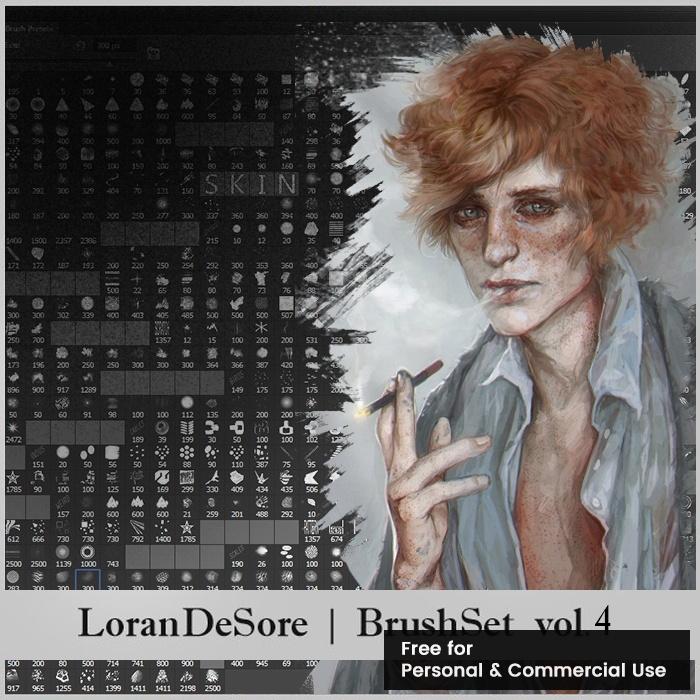 LoranDeSore Brushset ver4