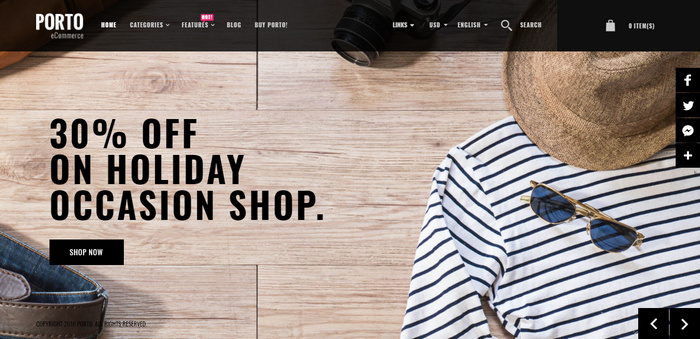 Top eCommerce Magento Theme