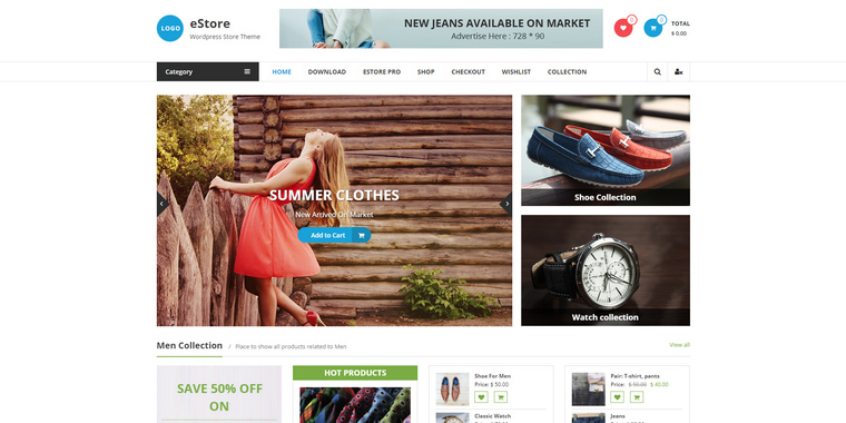 free ecommerce wordpress themes 2017