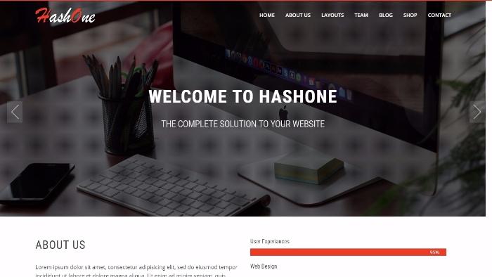 hashone - multi-purpose WordPress theme