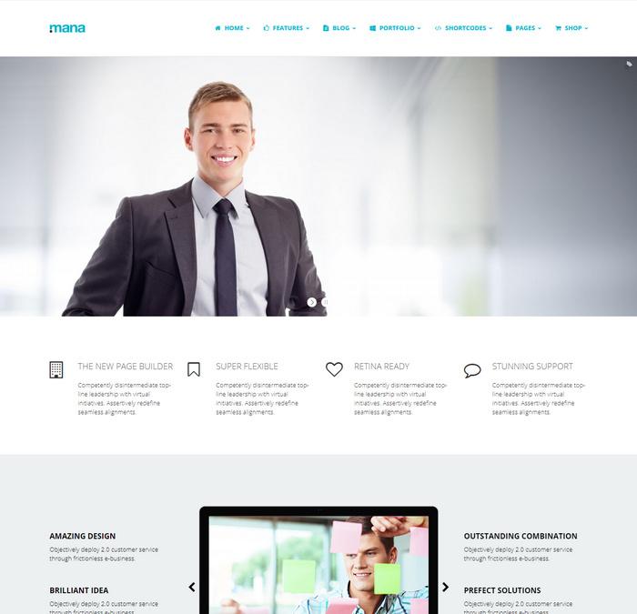 stylish Metro WordPress Themes