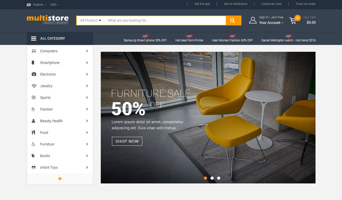15 Best eCommerce Magento Themes & Templates