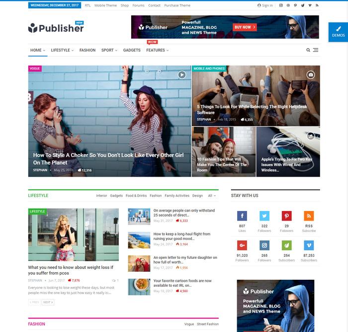 powerful WordPress Newspaper, Magazine and Blog theme