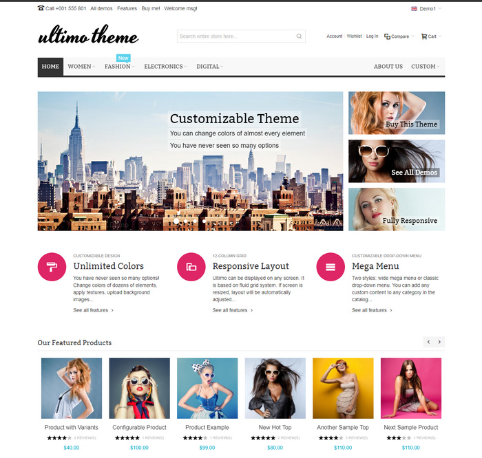 great eCommerce Magento Theme