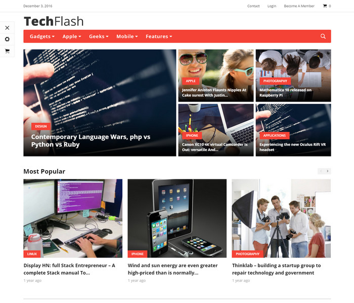 Good News Technology WordPress Theme
