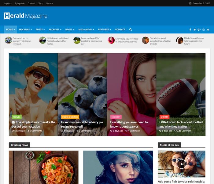 best news portal & online magazine WordPress Theme