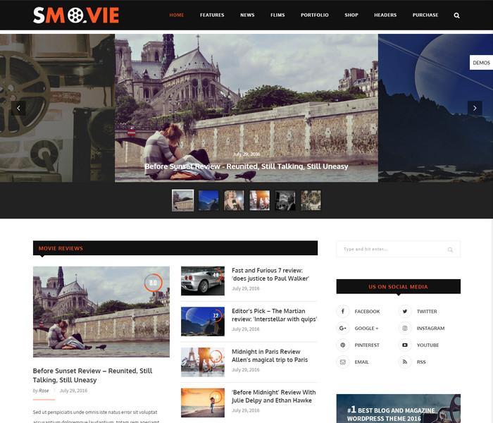 Soledad Multi-Concept movie Blog Magazine WP Theme