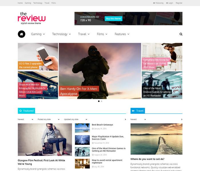 The Review WordPress Theme