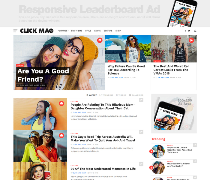 Viral WordPress News Magazine Theme
