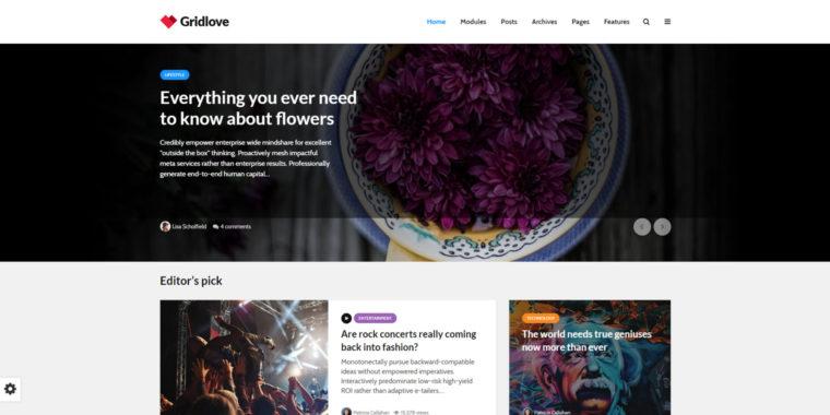 best news wordpress themes for magazines, news sites