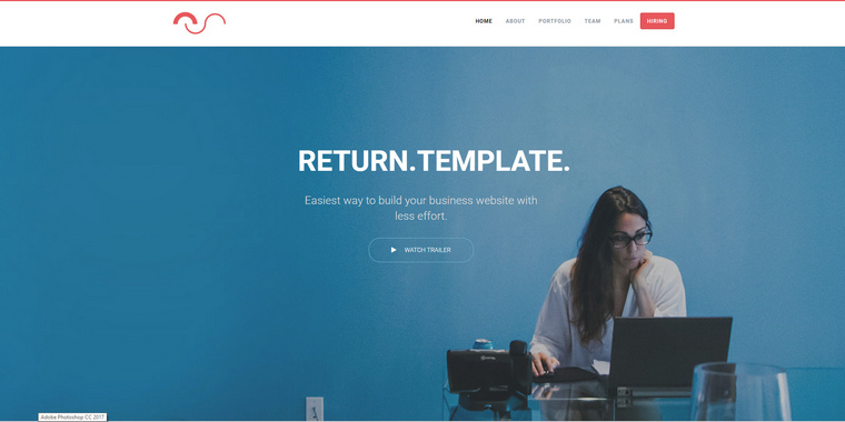 Return – Free HTML5 Business Website Template