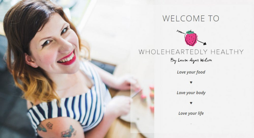 wholeheartedly food website blog