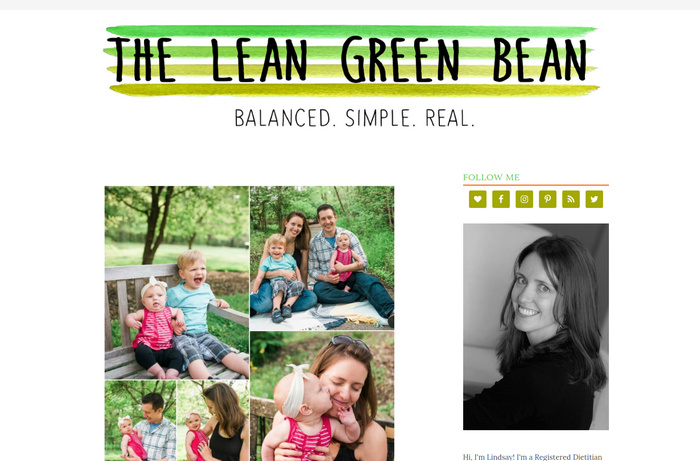 The Lean Green Bean - food blogger