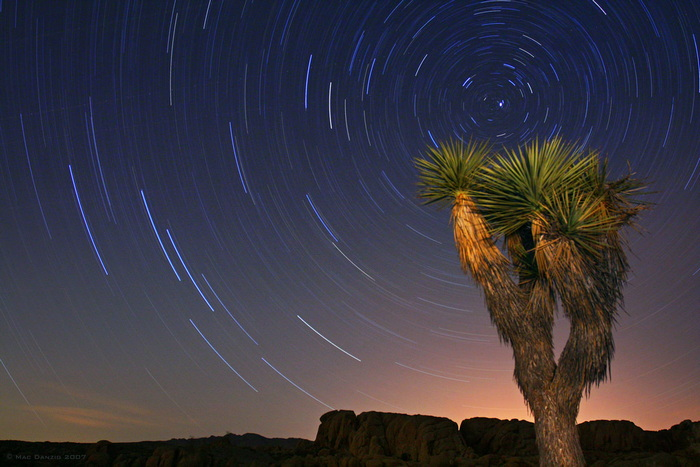 photos of star trails