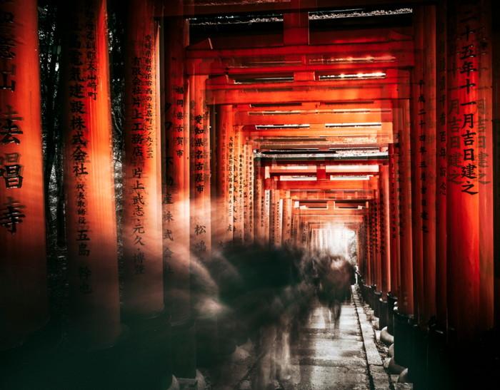 Fushimi Inari Tapınağı, kyoto