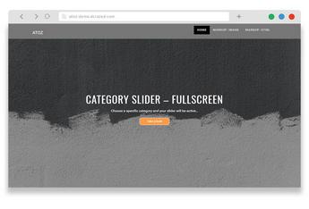 AtoZ - free simple wordpress blog theme